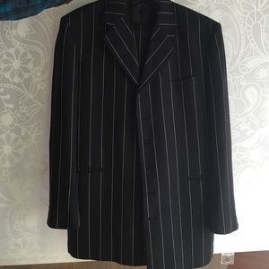 Men's suit pin stripe