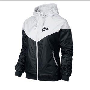 95f513086 Nike Jackets & Coats | Iso Windbreaker Black And White | Poshmark