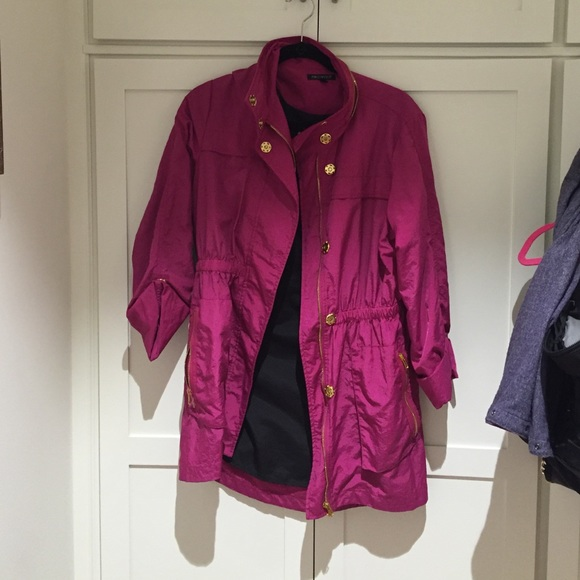 70% off For Cynthia Jackets & Blazers - Magenta, dressy rain ...