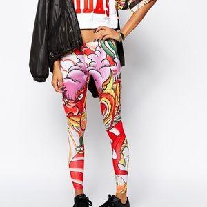 Adidas x Rita Ora leggings