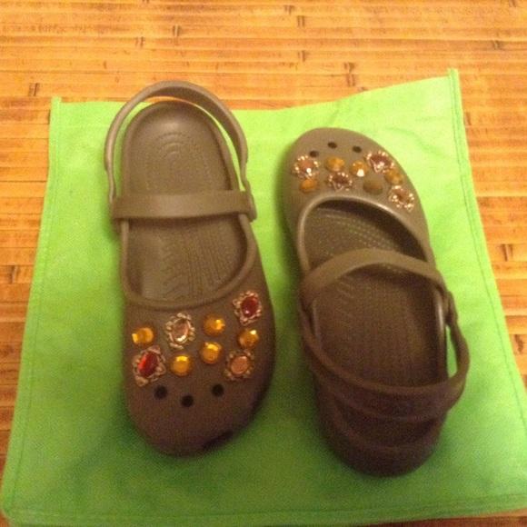 b5101c19d6cf Crocs Shoes - Crocs with BLING!