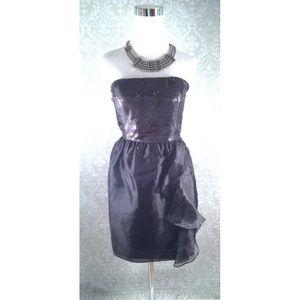 Calvin Klein black sequin dress size 4