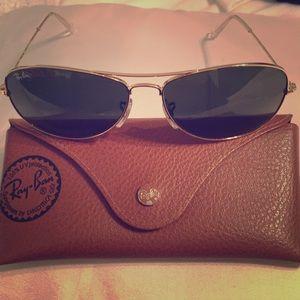 RayBan Women's Aviator sunglasses