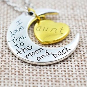 Jewelry - 💗 I love you to the moon & back - Aunt - Necklace