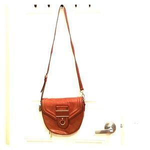 Rebecca Minkoff leather saddle bag