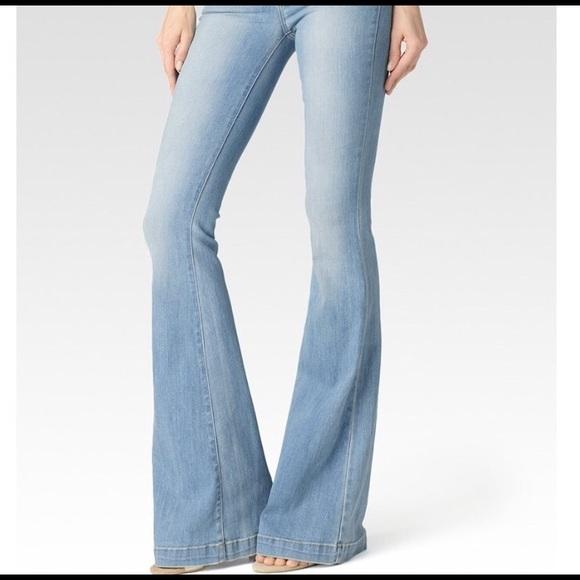 43a4726626fda Light blue Paige Fiona Flare Jeans