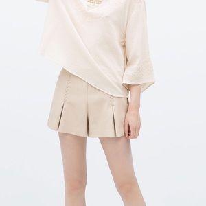 Host Pick Zara faux leather shorts