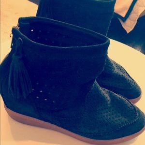 Isabel Marant perforated heal wedge 37/7