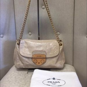 prada bag real or fake - 85% off Prada Handbags - Prada Paglia Vitello Daino Bag ??SALE ...