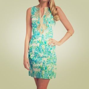 "Lilly Pulitzer - Janice Shift in ""High Beams"""