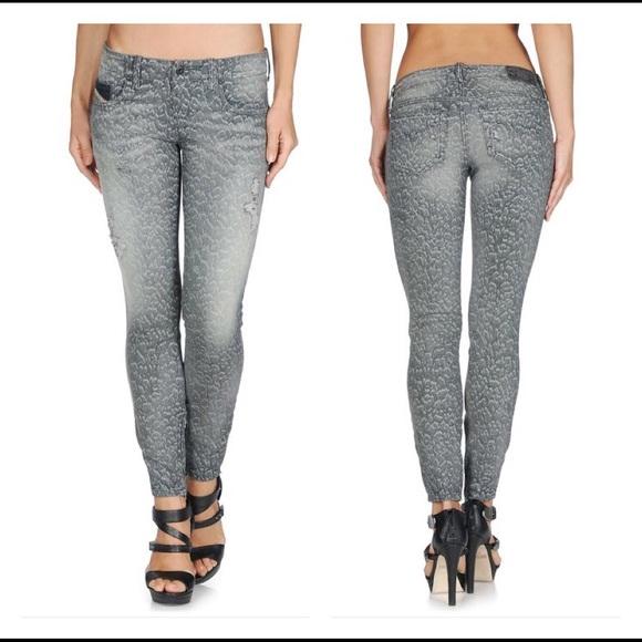 584b57a1 Diesel Jeans | Super Skinny Grupeezip L32 | Poshmark