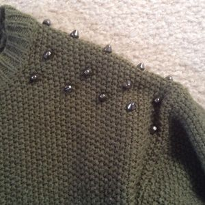 Love by design Sweaters - ⭐️Love by Design studded sweater ⭐️