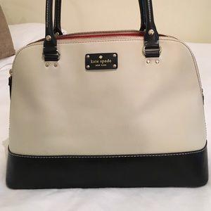 Kate Spade New York two tone satchel