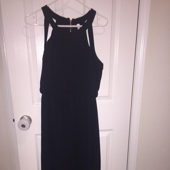 Xhilaration black maxi dress