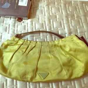 prada lime green purse