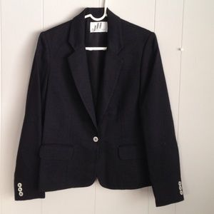 JH Collectibles- vintage 80's black blazer