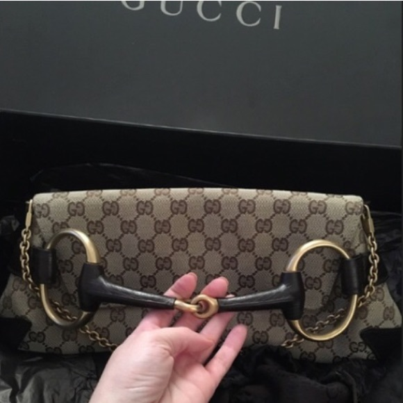 14c555a731731a Gucci Bags | Horsebit Clutch Bag Price Firm | Poshmark