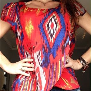 Amazing Aztec Top