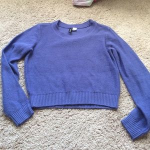 63% off H&M Sweaters - H&M Periwinkle Blue sweater from Liza's ...