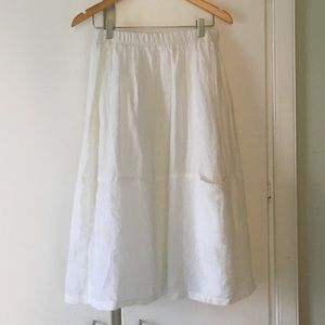 Eileen Fisher Skirts - Eileen Fisher linen skirt