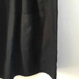 Eileen Fisher Skirts - Black Eileen Fisher linen skirt.