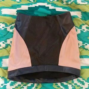 Tobi tri colored mini skirt!