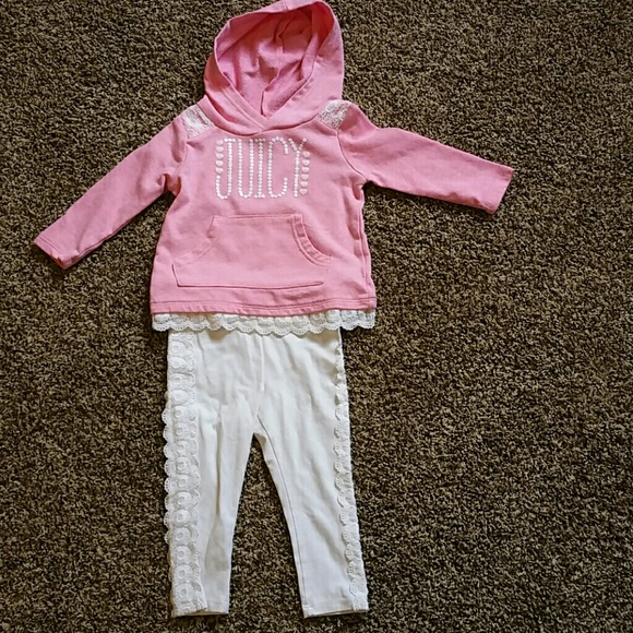 Juicy Couture Other -   SALE   Juicy Couture baby sweatshirt set 5ab8e0e2dca5