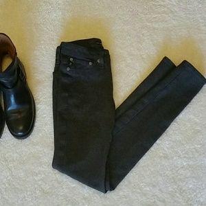 Big Star Denim - Big Star Colette charcoal gray Ponte pants size 24