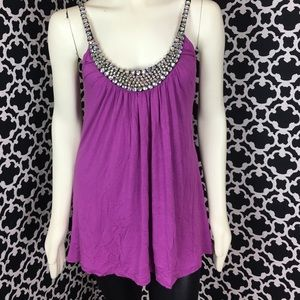 🆕LISTING RHOB Bejeweled Purple Top