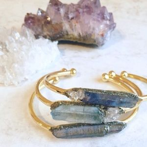 Lea spirit Jewelry - Aqua Aura/Angel Aura handmade bracelet