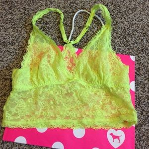 a65065506f2 PINK Victoria s Secret Other - Neon green bralette