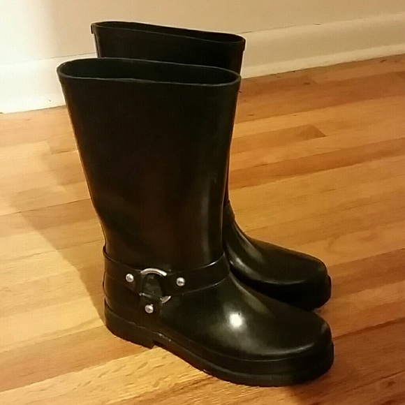 Cougar Boots Shoes - Cougar Boots Motorcycle Style Rainboots