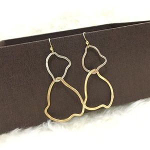 Jewelry - Silver and Gold Earrings