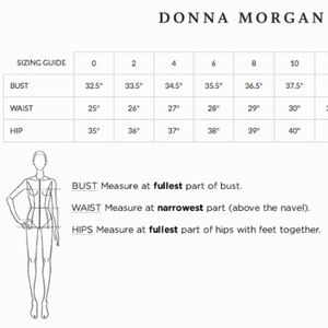 Donna Morgan Dresses - MOVING SALE❗️Back Laser Leather Cut-Out Dress