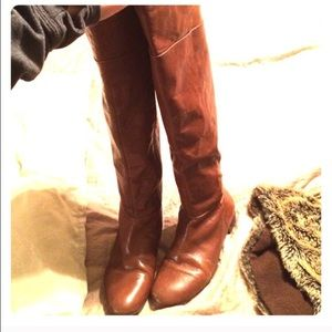 BLACK over the Knee Nine West boots