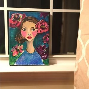 Wall Decor--Original Painting on Canvas