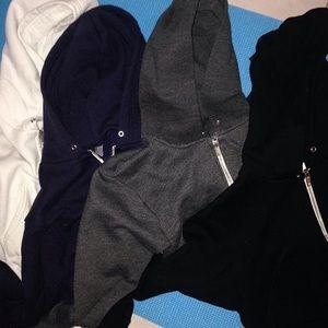 Aa crop top hoodies