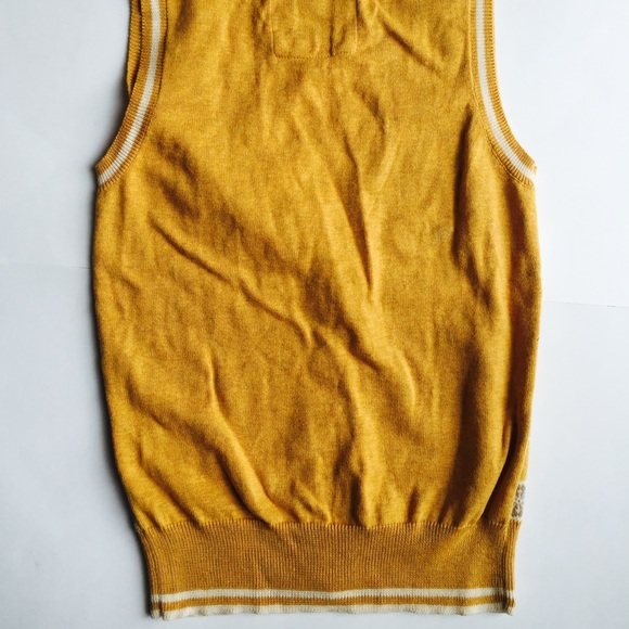 Forever 21 - Mustard yellow sweater vest from Stephanie's closet ...