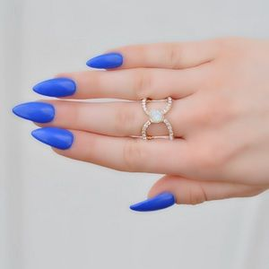 Gold Audrey Ring
