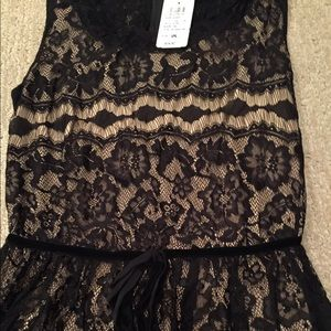Windsor black lace dress