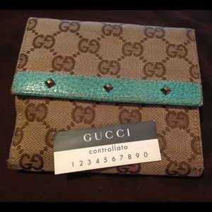 Vintage Authentic Gucci Wallet