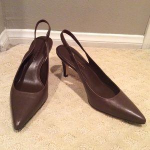 Banana Republic mule heels