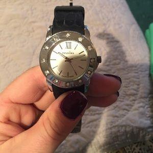 Pandora style silicone women's watch