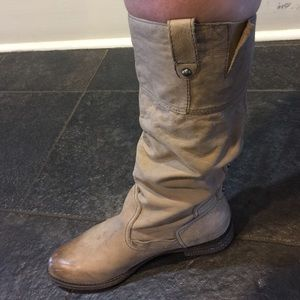 OTBT Light tan tall boot