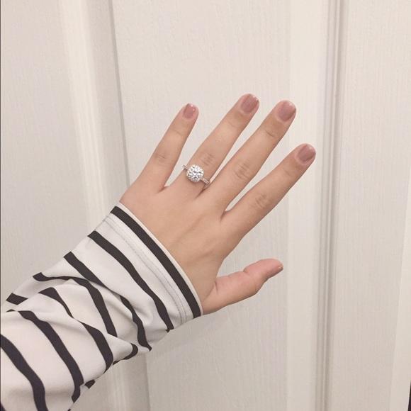 83c7f2446 Swarovski halo engagement ring. M_56a243486a58308b4900139e
