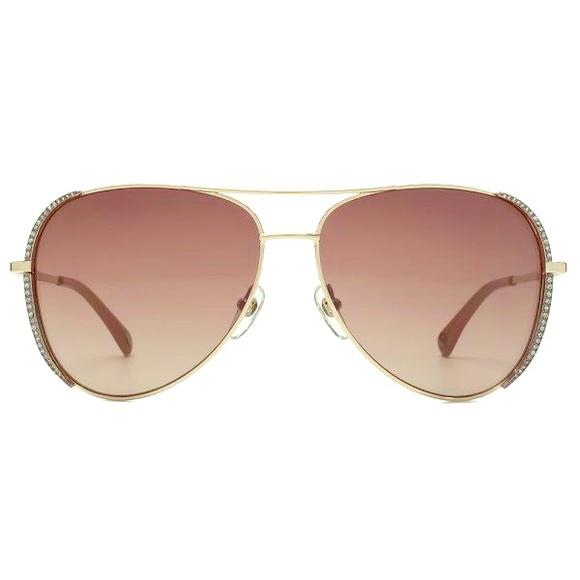 50ab74ecf200 Michael Kors SADIE Crystal Aviator Sunglasses NWOT.  M_56a2578e9818297c1a002635