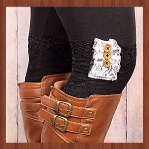 Boutique Accessories - Lace Boot Cuffs