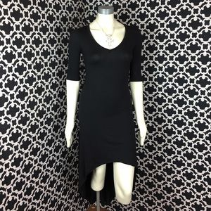 🆕LISTING Black Hi-Lo V-Neck Dress