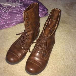 jcpenney shoes combat moto boots on poshmark