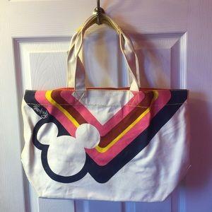Mickey head tote bag